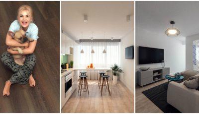 Cum arată noua locuință a Danielei Jenunchi!