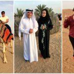 Foto: Corina Țepeș și Costi Burlacu explorează Emiratele Arabe Unite!