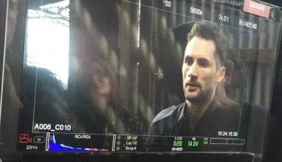 Moldoveanul Nicon Caraman joacă rolul unui locotenent într-un lungmetraj filmat la Londra. Află în ce proiecte mai este implicat!