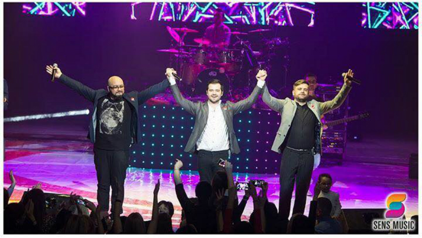 Foto: Peste 1000 de fani au fost la concertul susținut de 3 Sud Est la Chișinău!