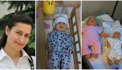 Victoria Cojocari Danila creează haine pentru copiii născuți prematur!