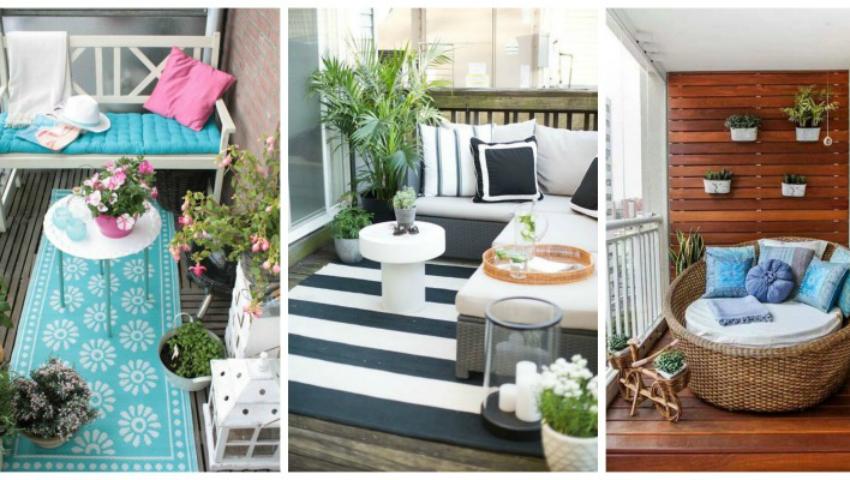 Foto: Cum să-ți transformi balconul într-un colțișor de vis!