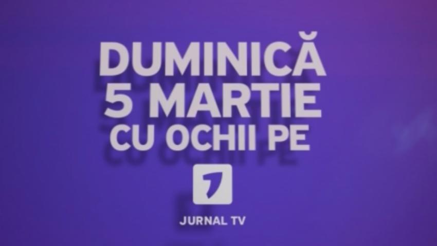Foto: Jurnal TV se relansează pe 5 martie. Iată noua grilă de emisie
