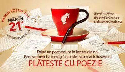 Pe 21 martie, vei putea achita cafeaua cu o poezie! Vezi lista localurilor care încurajează arta