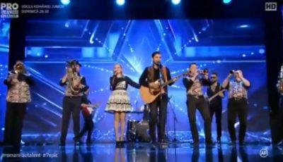 """Trupa """"Tharmis"""" a luat 4 de """"DA"""" la Românii au Talent!"""