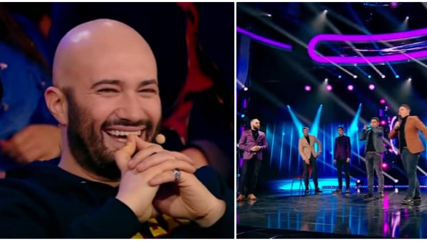 """Foto: """"NU""""-ul primit de băieții de la Comedy Zebra Show la """"iUMOR"""" a provocat scandal în platou!"""