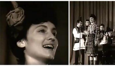 Video! Sofia Rotaru, la 19 ani, cânta despre primăvară