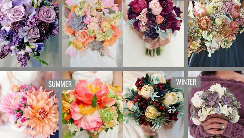 Foto: Florile perfecte din buchetul de mireasă în funcţie de anotimp