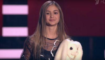 """Iuliana Beregoi i-a cucerit pe jurați la """"Golos Deti"""" din Rusia!"""