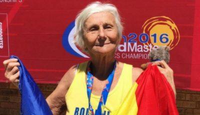 O româncă de 90 de ani a câștigat medalia de aur la un campionat mondial de atletism!