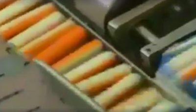 """Șocant! Acest video arată cum sunt fabricate, de fapt, batoanele din ,,crab""""! Mai mănânci?"""