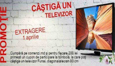 Participă la tombolă și câștigă un televizor LED Funai Smart!
