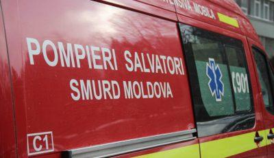 Intervenție SMURD! Un tânăr de 18 ani din Capitală a leșinat pe stradă în timp ce mergea la școală