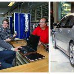 Foto: Un moldovean a descoperit împreună cu colegii săi o tehnologie nouă pentru a pune în mișcare automobilele electrice!