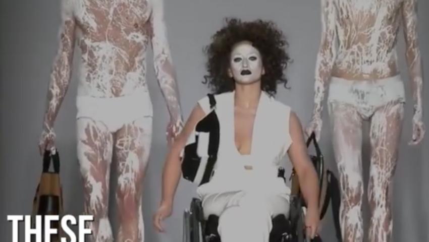 Foto: Video emoționant! Prezentare de modă inedită, cu modele care suferă de handicap fizic