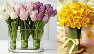 10 secrete pentru a păstra florile în vază mai mult timp!