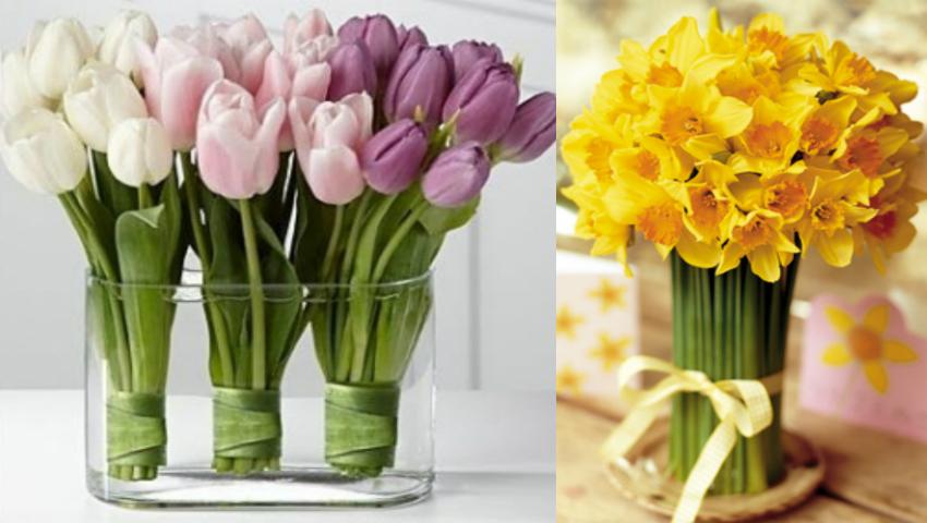 Foto: 10 secrete pentru a păstra florile în vază mai mult timp!
