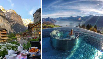 Cristina Gheiceanu îți arată 7 locuri frumoase pe care să le vezi dacă ajungi în Elveția!