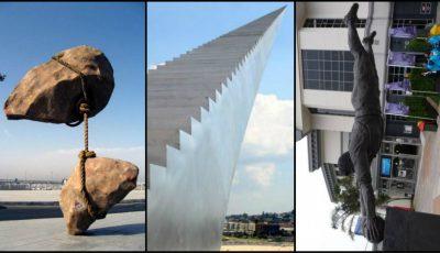 Top 20 de sculpturi care sfidează legea gravitației!