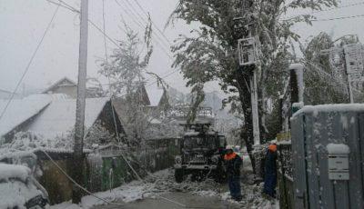 Un bărbat de 26 de ani a fost electrocutat în timpul misiunii
