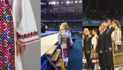 Ia, bluza tradițională românească, a fost la loc de cinste la Campionatele Europene de la Cluj-Napoca!