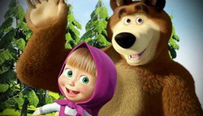 Un moldovean este autorul și producătorul desenului animat Masha si Ursul!