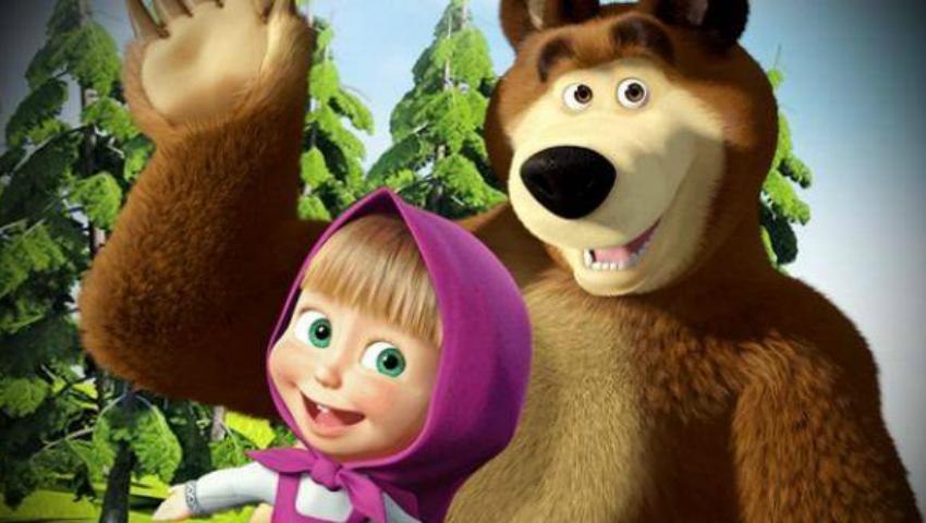 Foto: Un moldovean este autorul și producătorul desenului animat Masha si Ursul!