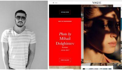 Fotografiile moldoveanului Mihail Dolghintev au ajuns în Vogue!