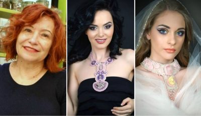 Ana Zaporojan are o dulce obsesie -bijuteriile. Vezi ce opere de artă creează moldoveanca!