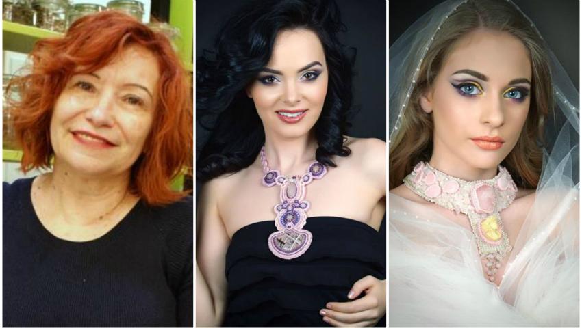 Foto: Ana Zaporojan are o dulce obsesie -bijuteriile. Vezi ce opere de artă creează moldoveanca!