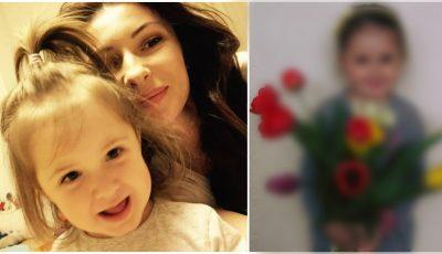 Angela Gonța a postat o poză cu fiica ei, care a acumulat aproape 4000 de like-uri!