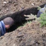 Foto: În curtea lui Ilan Shor au fost găsite oseminte de om!