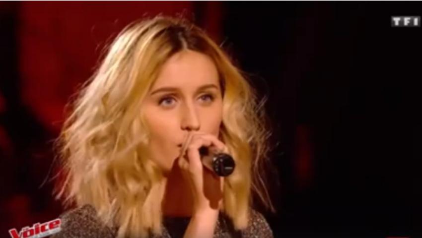 """Foto: Lidia Isac a impresionat juriul la """"The Voice"""" în Franța. Vezi dacă a trecut sau nu în etapa următoare!"""
