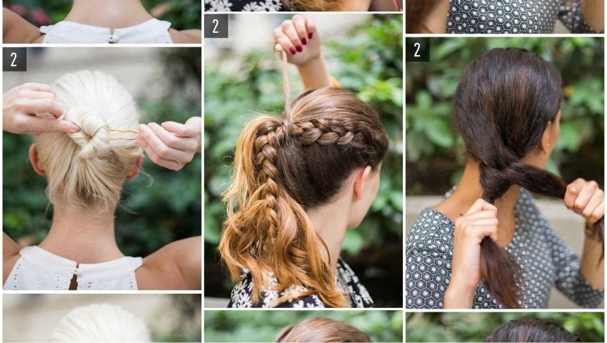 14 moduri în care îți poți aranja părul!