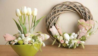 Decorațiuni de Paște. Pe care le procurăm și pe care le lăsăm pe raft
