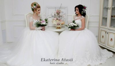 Hair stilista Ekaterina Atasii te invită la un curs de coafuri!