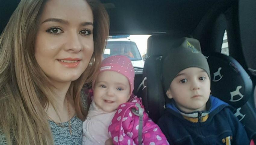 Foto: Nepoțica lui Gheorghe Țopa e fată mare! Vezi cu cine seamănă micuța