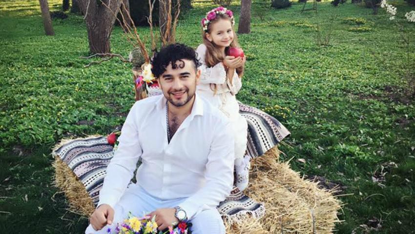 """Foto: Valentin Uzun lansează videoclipul și piesa """"Zâmbet de primăvară"""". În videoclip apare și Amelia!"""
