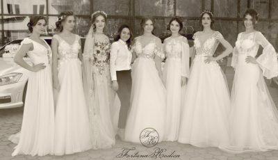 """Rodica Fortuna, despre tendințele în materie de rochii de mireasă: """"Mă bucur că au renunțat la albul imaculat"""""""