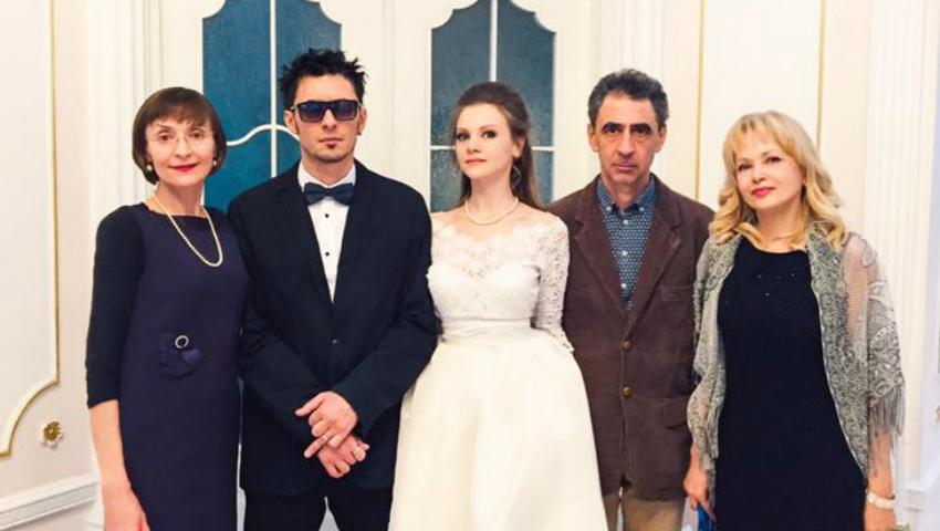 Foto: Corina Fusu a fost soacră mare! Vezi poze de la nunta fiului Leonard
