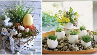 Cum să decorăm masa și casa pentru Sărbătorile Pascale!
