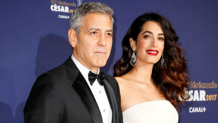 Foto: Care este sexul gemenilor lui George Clooney