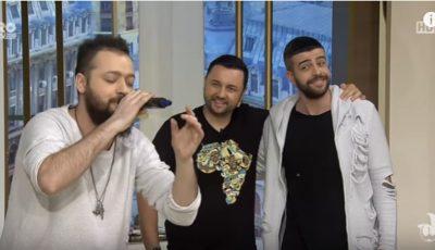 Talentul actoricesc al lui Guz l-a dat pe spate pe Cătălin Măruță