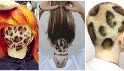 Părul cu print de leopard. Tu ai îndrăzni să-ți faci așa o schimbare de look?