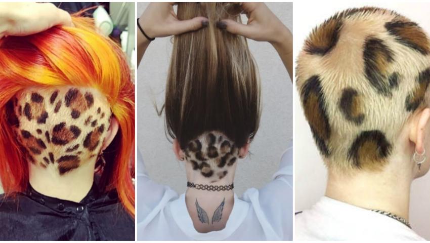 Foto: Părul cu print de leopard. Tu ai îndrăzni să-ți faci așa o schimbare de look?