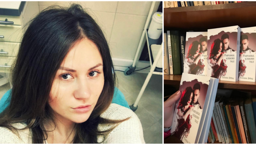 """Foto: Tatiana Spînu a scos de sub tipar cartea """"Parfumul scrisorii tale"""""""