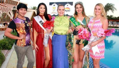 Anastasia Fotachi a câștigat titlul de Miss în Egipt
