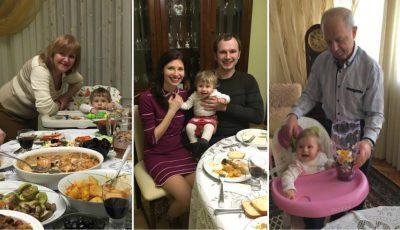 """Paștele în familia Veronicăi Ghimp: """"Bunicuța ne umple gențile cu toate bunătățile"""""""
