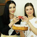 Foto: Stela Popa și Valeria Țurcan au gătit o pască fără aluat pentru o cauză nobilă!