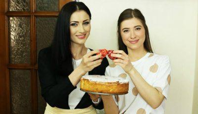 Stela Popa și Valeria Țurcan au gătit o pască fără aluat pentru o cauză nobilă!
